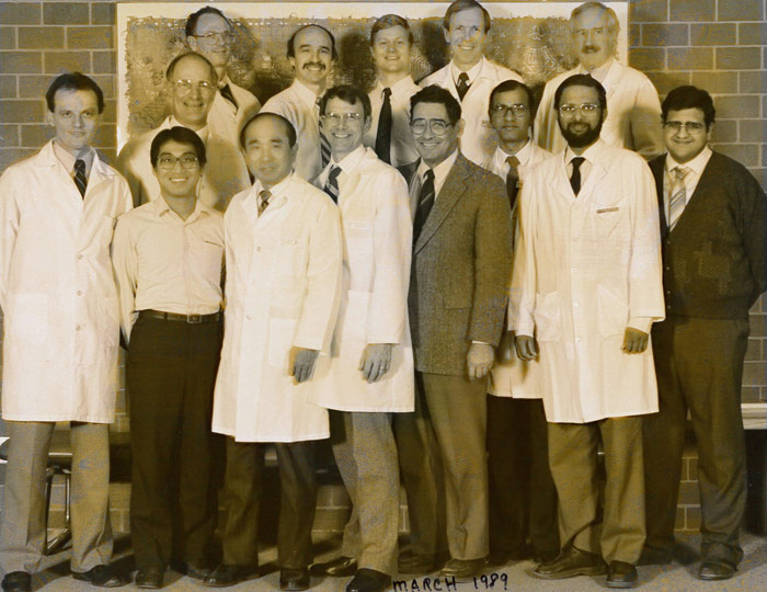 Nephrology Faculty and Staff 1989