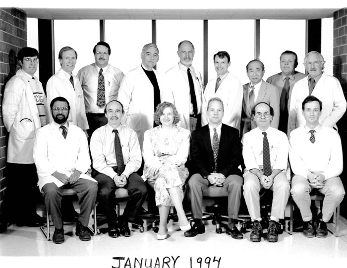Nephrology Faculty and Staff 1994
