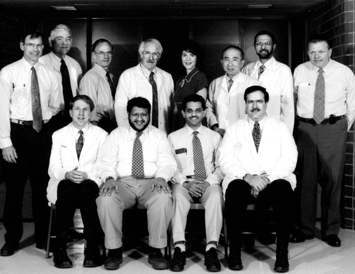Nephrology Faculty and Staff 1996
