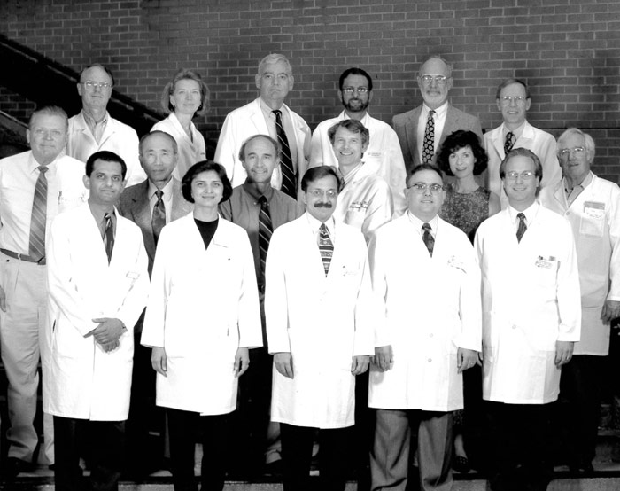 Nephrology Faculty and Staff 1998