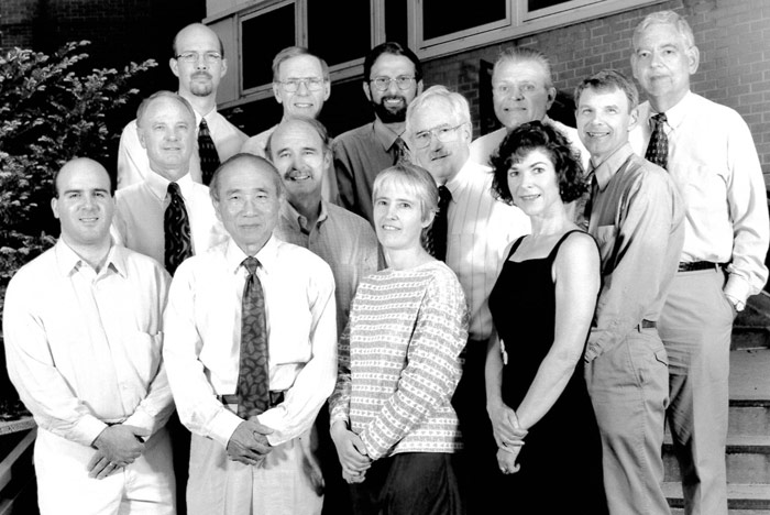 Nephrology Faculty and Staff 2000