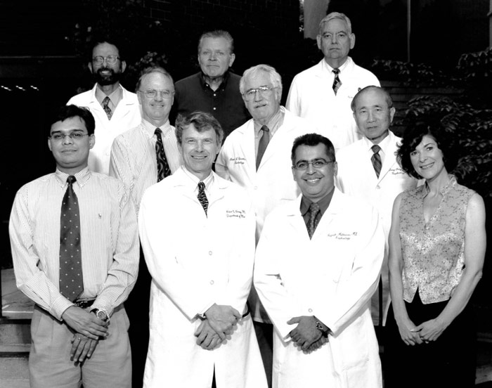 Nephrology Faculty and Staff 2002