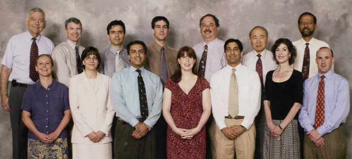 Nephrology Faculty and Staff 2004
