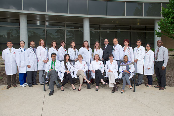 Nephrology Faculty and staff 2014