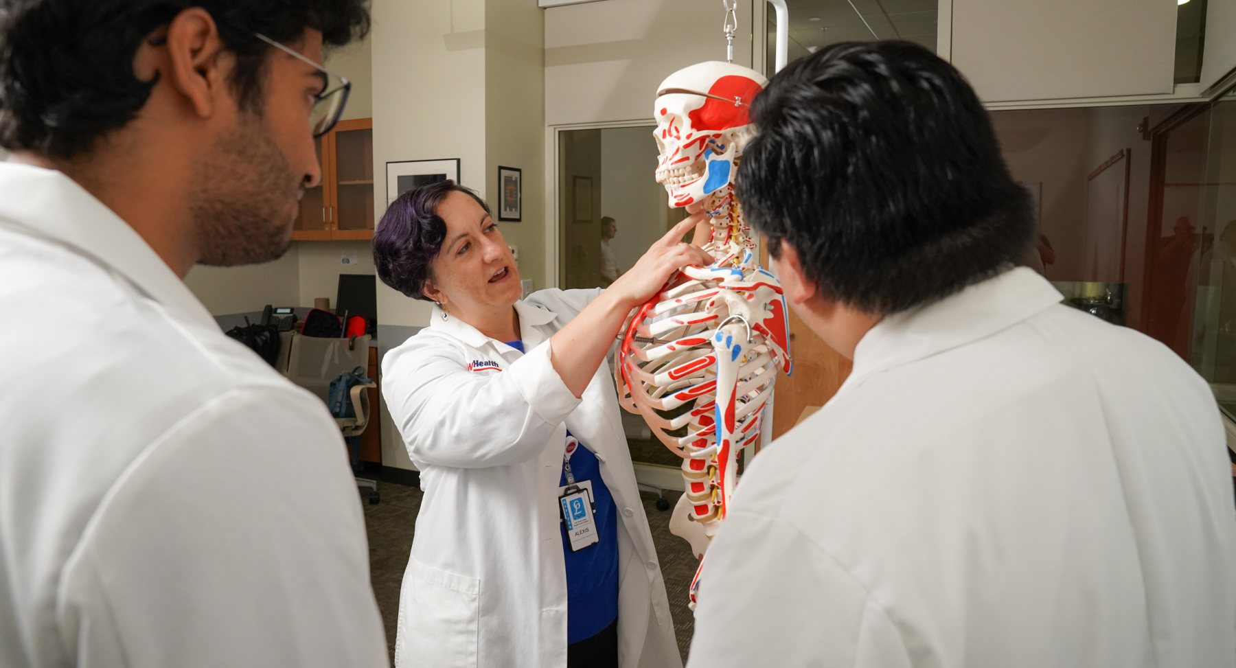 Alexis Eastman, MD, Geriatrics, with learners