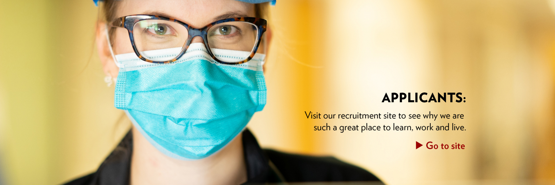 Applicants: Visit our GME site