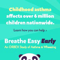 Childhood asthma affects over 6 million children nationwide